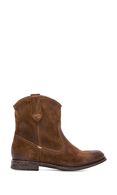 n.d.c made by hand San Manuel Western Boot in Softy Sigaro