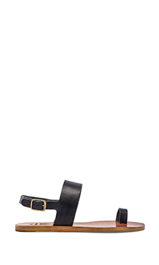 n.d.c  Janae Leather Sandal in Navy