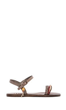 n.d.c  Jelena Leather Sandal in Taupe