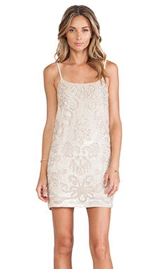 ROBE COURTE GLOSS LACE