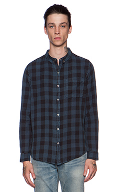 NEUW Bob Shirt in Blue Check