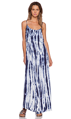 NEUW Montago Dress in Indigo Tie Dye