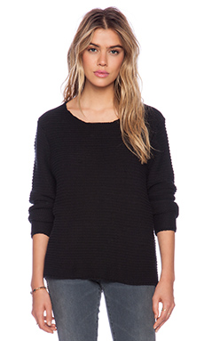 NEUW Rope Sweatshirt in Black
