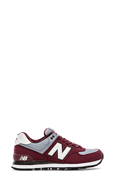New Balance ML574 in Oxblood