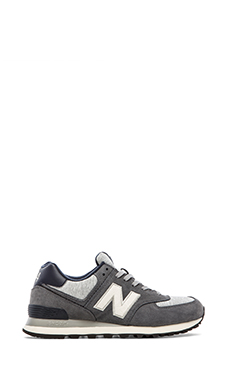 New Balance ML574 in Grey/White