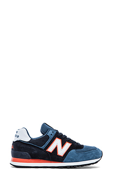 New Balance Made in USA US574 in Blue