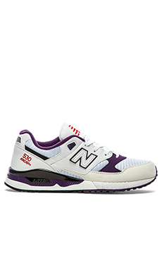New Balance M530 in White Purple