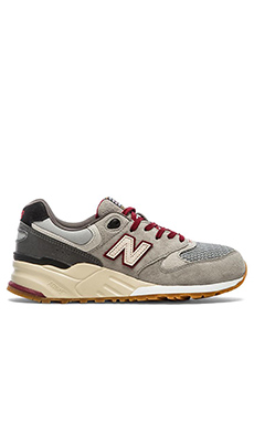 New Balance Limited Edition ML999 in Grey Red