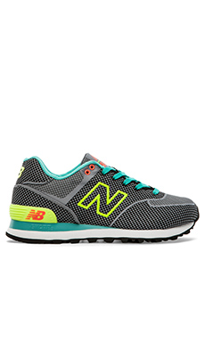 New Balance Elite Edition Collection WL574AGT in Dark Grey