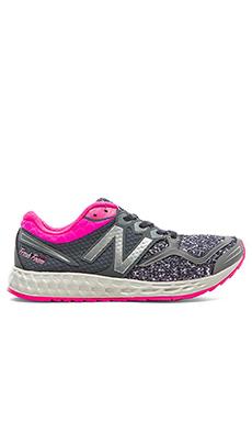 New Balance Fresh Foam Zante Sneaker in Grey & Pink