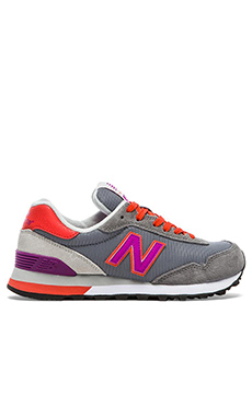 New Balance Modern Classics Sneaker in Grey & Purple