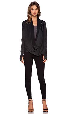 Nicholas K Oar Sweater in Black