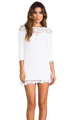 Nightcap Dixie Lace Dress in Snow