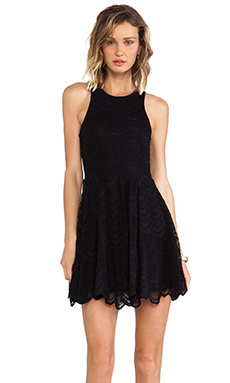 Nightcap Belize Dress in Black