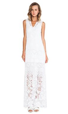 Nightcap Bella Beach Gown in White