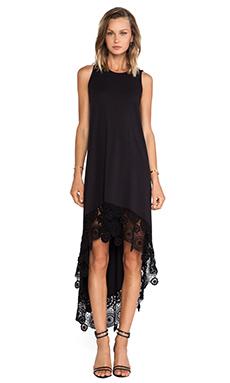 Nightcap Crochet Hanalei Dress in Black