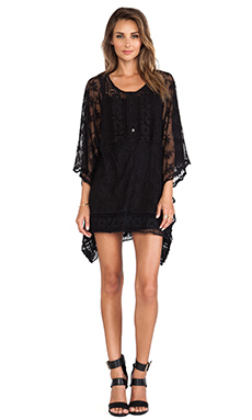 Nightcap Amalfi Caftan in Black