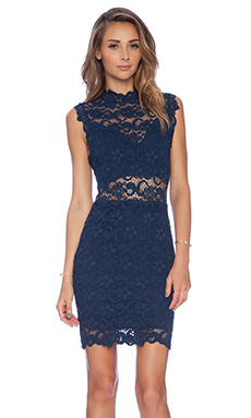 Nightcap Dixie Cut Out Mini Dress in Navy