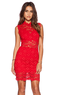 Nightcap x REVOLVE Dixie Cutout Mini Dress in Ferrarri Red