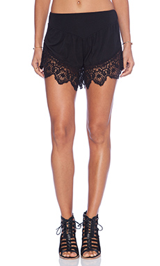 Nightcap Lounge Short in Black