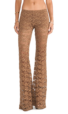 Nightcap Dixie Bell Pant in Tobacco