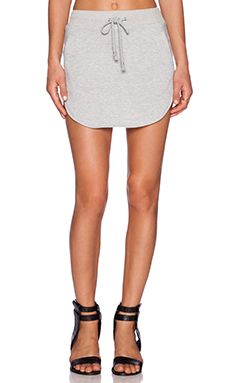 Nightwalker Anarchy Mini Skirt in Grey