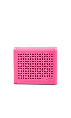 Nixon The Mini Blaster Speaker in Magenta