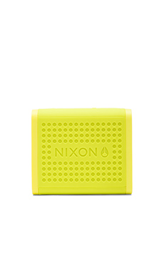 Nixon The Mini Blaster Speaker in Neon Green