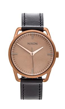 Nixon The Mellor in Black/ Copper