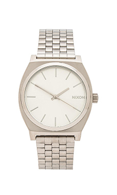 Nixon The Time Teller in Silver