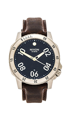 Nixon The Ranger Leather in Black & Brown