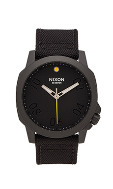Nixon The Ranger 45 Nylon in All Black