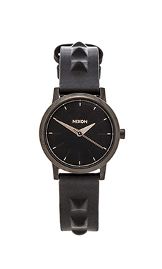 Nixon The Kenzi Leather in Black Studded