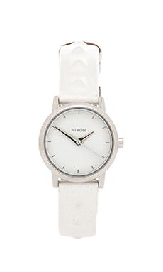Nixon The Kenzi Leather in White Studded