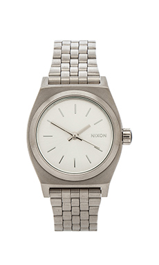 Nixon The Small Time Teller in All Silver