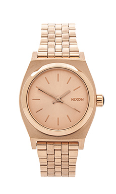 Nixon The Small Time Teller in All Rose Gold