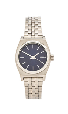 Nixon The Small Time Teller in Silver & Cobalt