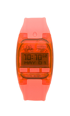 Nixon The Comp S in All Bright Coral