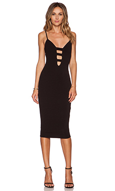 Nookie Naomi Bodycon Dress in Black