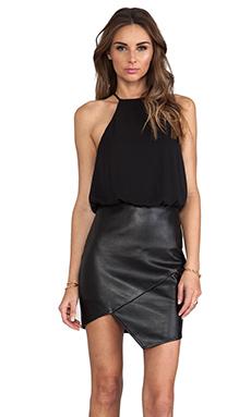 Nookie Oracle Halter Dress in Black