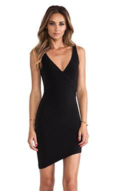 Nookie Dolc Vita Wrap Dress in Black