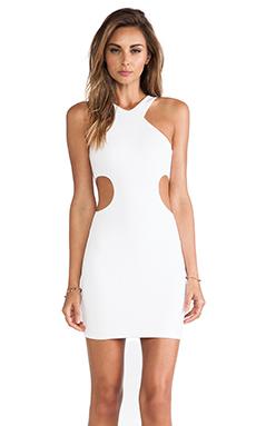 Nookie Pucker Up Dress in White