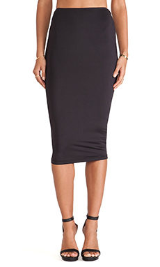 Nookie Casino Pencil Skirt in Black