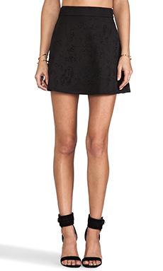 Nookie Misfits Skater Skirt in Black