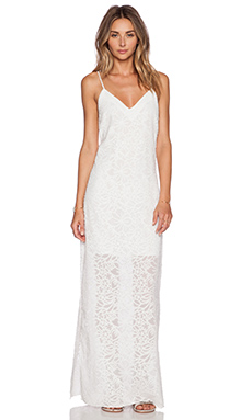 Nikki Reed for REVOLVE Roe Slip Dress in Cream