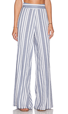 Nikki Reed for REVOLVE Marley Pant in Blue & White