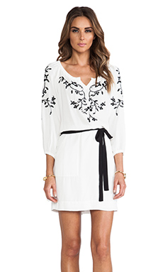 Nanette Lepore Tough Love Dress in White