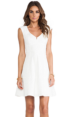 Nanette Lepore Artisan Dress in White