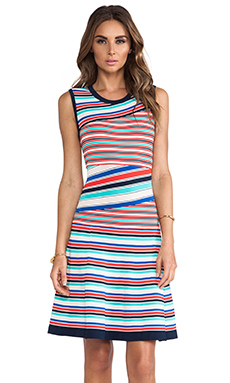Nanette Lepore Enchanting Dress in Stripe Multi