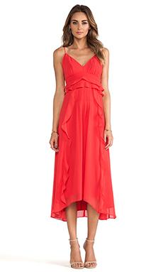 Nanette Lepore Dreamer Dress in Poppy Red